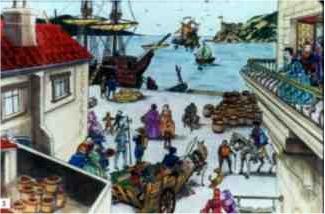 Vague d'ovnis à nice en 1608 – et gênes, martigues, avec ensuite