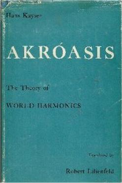 Hans Kayser (1891-1964), un auteur suisse essentiel sur la dimension spirituelle des harmoniques.