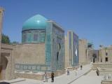 Les tombeaux du Shah-i Zinda. Photos: (c) Lankaart