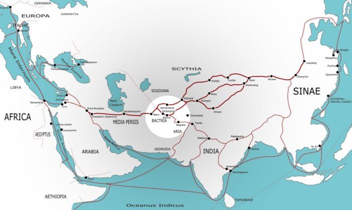 Localisation de Samarcande