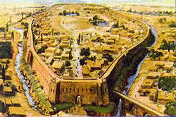 Michael amène Olga au site archéologique d'Afrasiab, près de Samarcande